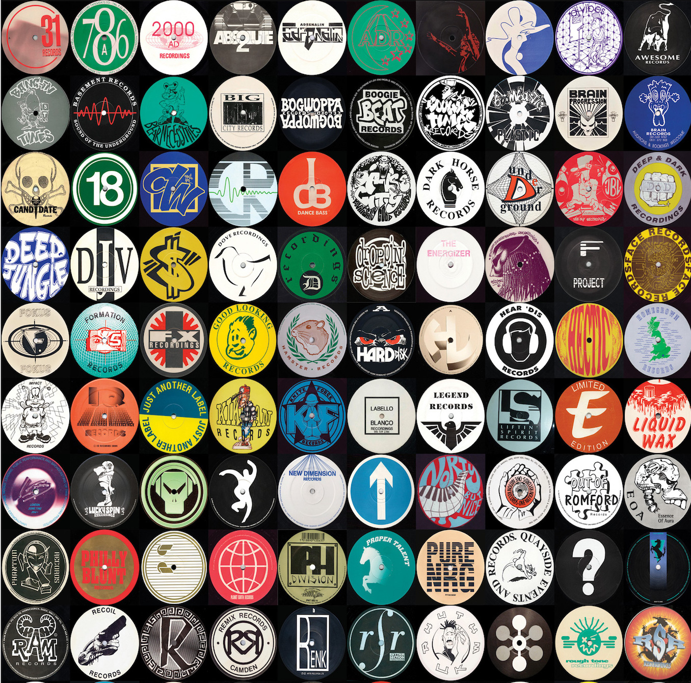 Old-Skool-Rave-Jungle-Record-Labels