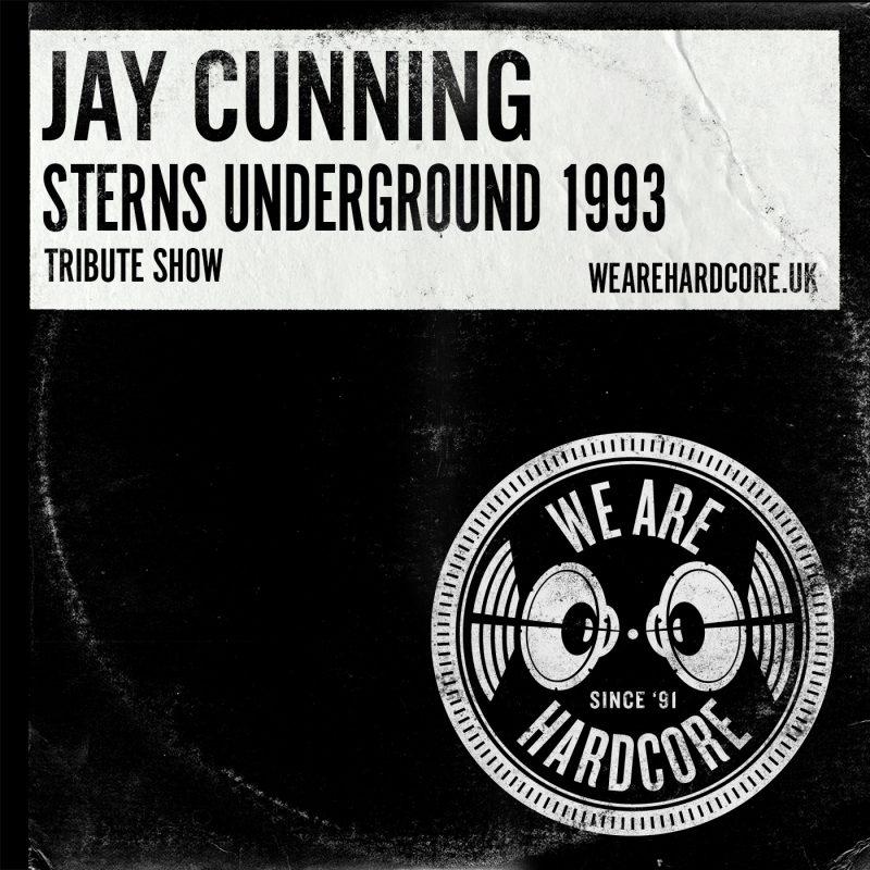 Sterns 1993 Underground Tribute - Jay Cunning - WE ARE HARDCORE